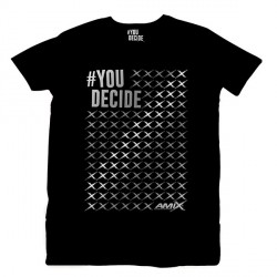 Camiseta AMIX You Decide ESTRELLITAS PLATA