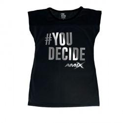 Camiseta Amix chica You Decide NEGRA